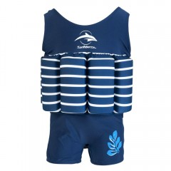 Konfidence Floatsuit Blue Stripe