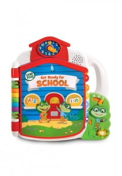 LeapFrog Tad's Get Ready for School Book