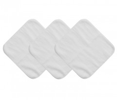 Mum 2 Mum Face Washers - White (6-Pack)