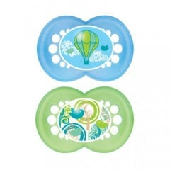 MAM Start Orthodontic Pacifier 6m+ - 2 Pack