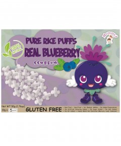MommyJ Pure Rice Puff - Blueberry