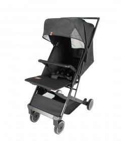 Mimosa Voyager Travel Stroller - Jet Set Black