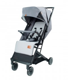 Mimosa Voyager Travel Stroller - Chromium Grey