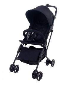 Mimosa Cabin City+ Stroller (Extended Canopy) - Jet Black