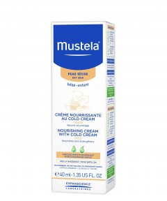 Mustela Nourishing Cream with Cold Cream - 40ml