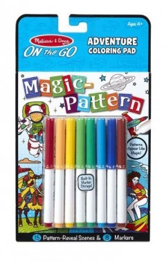 Melissa & Doug Magic-Pattern-Adventure Colouring Pad