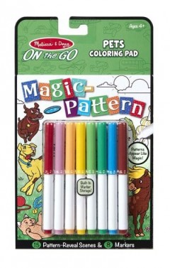 Melissa & Doug Magic Pattern Pets Colouring Pad
