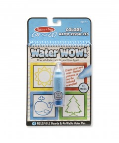 Melissa & Doug Water Wow - Colors & Shapes Water Reveal Pad