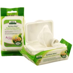 Aleva Naturals, Bamboo Baby, Nose 'n' Blows Wipes, 30 Wipes