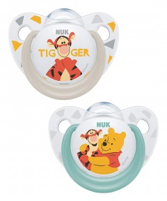 NUK Disney Latex Soother 0-6 months - 2 Pack