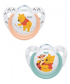 NUK Disney Latex Soother 6-18 months - 2 Pack