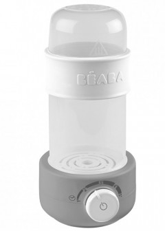 Beaba Baby Milk Second Bottle Warmer & Sterilizer - Grey
