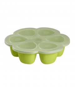 Beaba Multiportions 150ml Silicone Tray - Neon