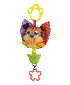 Playgro Musical Pullstring - Tiger