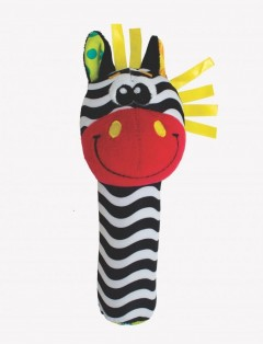 Playgro Jungle Squeaker - Zebra