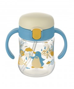 Richell TLI 1st Sippy Cup 200ml (5M+) - Light Blue