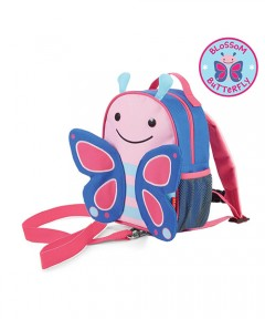 Skip Hop Zoo Safety Harness Backpack - Butterfly
