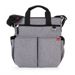 Skip Hop Duo Signature Changing Bag - Heather Grey