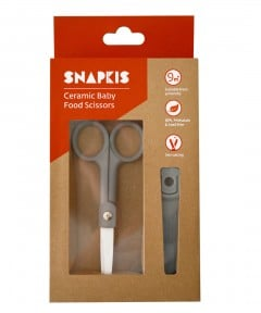Snapkis Ceramic Baby Food Scissors