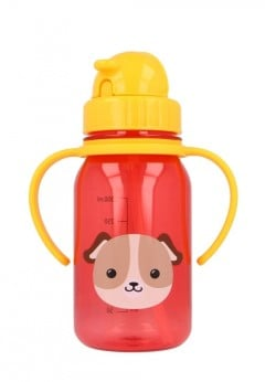 Snapkis My First Straw Bottle 350ml - Dog