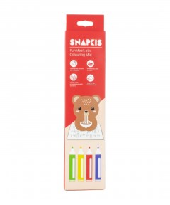 Snapkis Funmeals Colouring Placemat - Bear