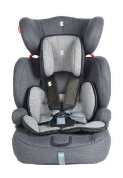 Snapkis Steps 1-11 Car Seat - Grey Melange/Black
