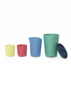 Stokke Flexi Bath Toy Cups - Multi colour