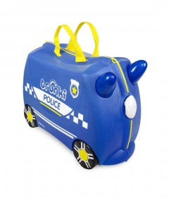 Trunki Ride-on Luggage - Percy The Police Car