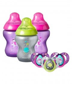 Tommee Tippee Closer to Nature Boldly Go Decorated Set - Girl