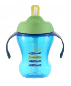 Tommee Tippee Easy Drink Straw Cup 9m+ - 230ml (Green)