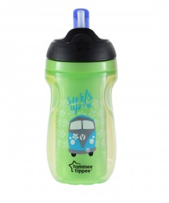 Tommee Tippee Insulated Active Straw Cup 12m+ - Green