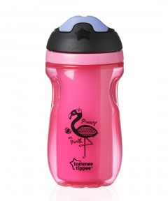 Tommee Tippee Insulated Active Sippee Cup 260ml 12mths+ - Pink