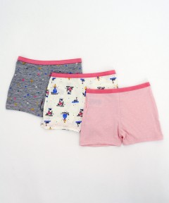 Mothercare Star, Spot And Fairytale Princess Shorts - 3 Pack