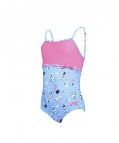 Zoggs Girls Space Circus Classicback Swimsuit - 4 Years