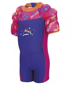 Zoggs Water Wing Floatsuit Deepsea 2-3 years - Pink