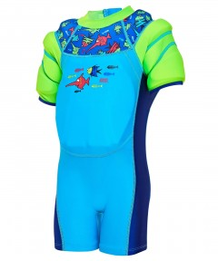Zoggs Seasaw Water Wings Floatsuit - 1-2 Years