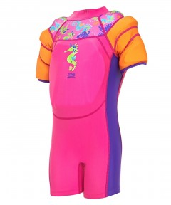 Zoggs Sea Unicorn Water Wing Floatsuit - 1-2 Years