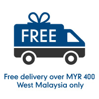 Free Delivery over MYR 400: West Malaysia Only
