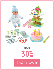 toys 30% off