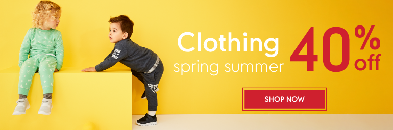 Up to 40% Off Spring Summer Clothing